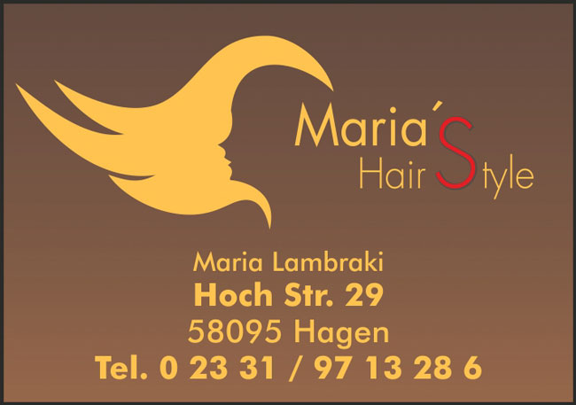 Maria's Hairstyle
