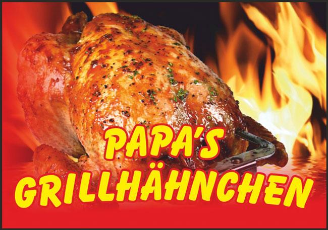 Papa's Grillhähnchen