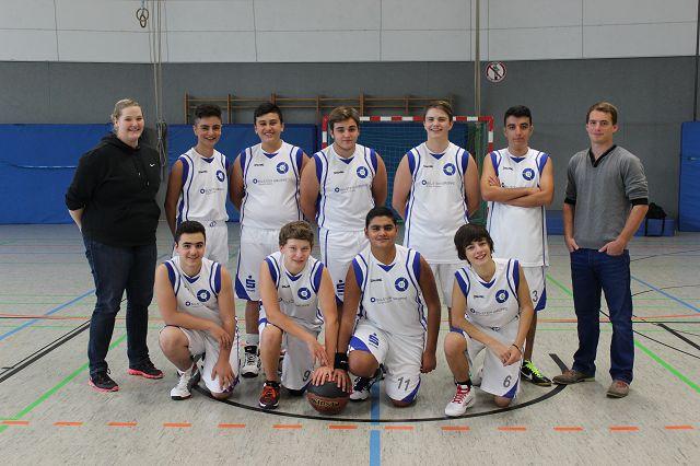 k-Mannschaftsfoto u 16 Saison 2013/2014