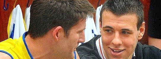 Adam Baumann (links) und Dominik Spohr